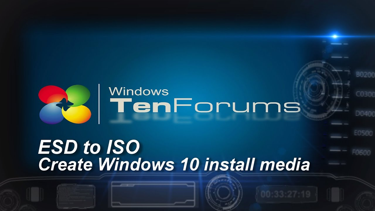 esd to iso free download