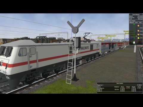 Prayagraj Express in MSTS Openrails(HD)
