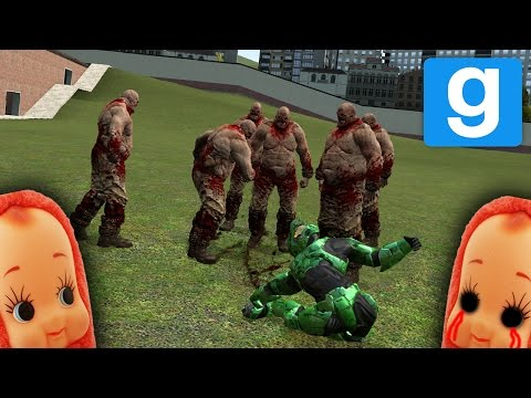 SCARY OUTLAST NPC CHASE! | Garry's Mod