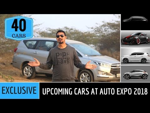 Auto Expo 2018 India: Upcoming cars | 40+ Cars (Exclusive Details)