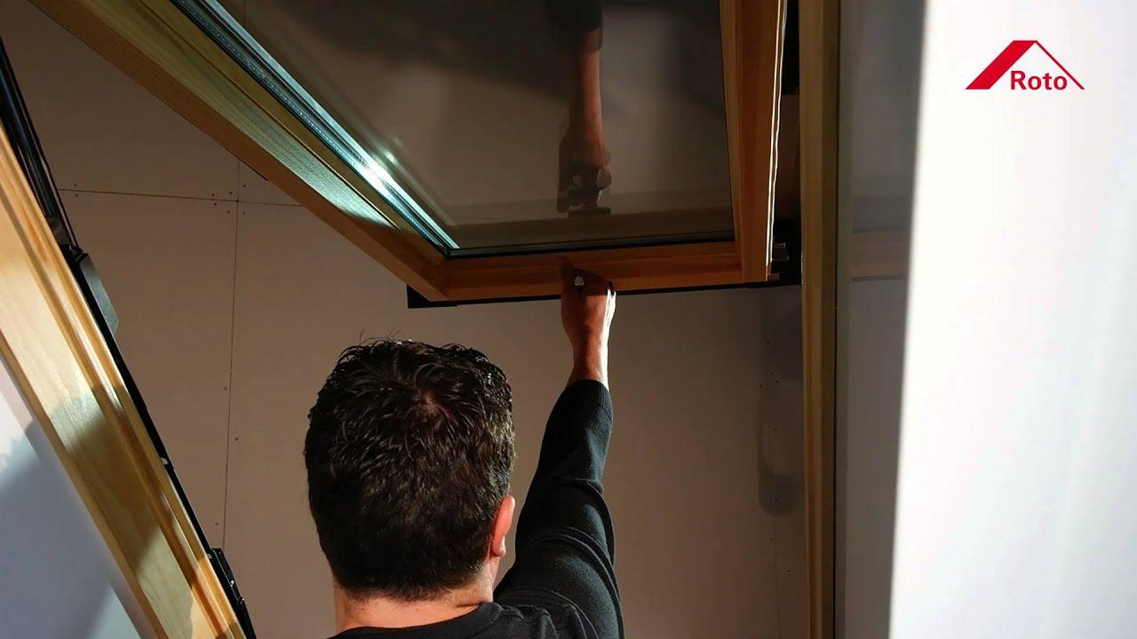roto klapp schwingfenster wdf 84 funktionen youtube. Black Bedroom Furniture Sets. Home Design Ideas
