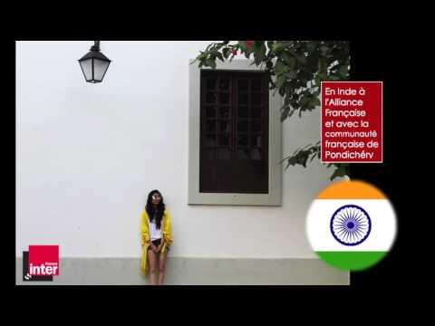 En Inde à l'Alliance Française à Pondichéry