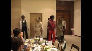 2008年10月23日 結婚式披露宴の余興 in 沖縄.