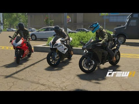 The Crew 2 | Sport Bike Showdown - 273HP Ninja H2 Build | Ninja Vs S1000RR, Panigale R, Hellcat, +