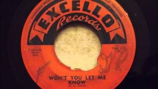 King Crooners - Won't You Let Me Know - Great Uptempo Doo Wop