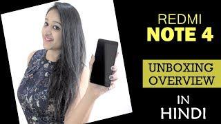 Xiaomi Redmi Note 4 Overview & Impressions (Indian Unit)- In Hindi