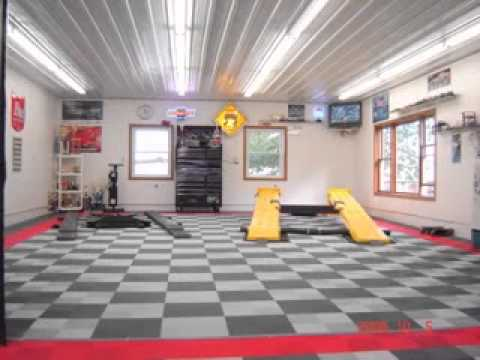 Home garage ideas youtube for Home garage shop
