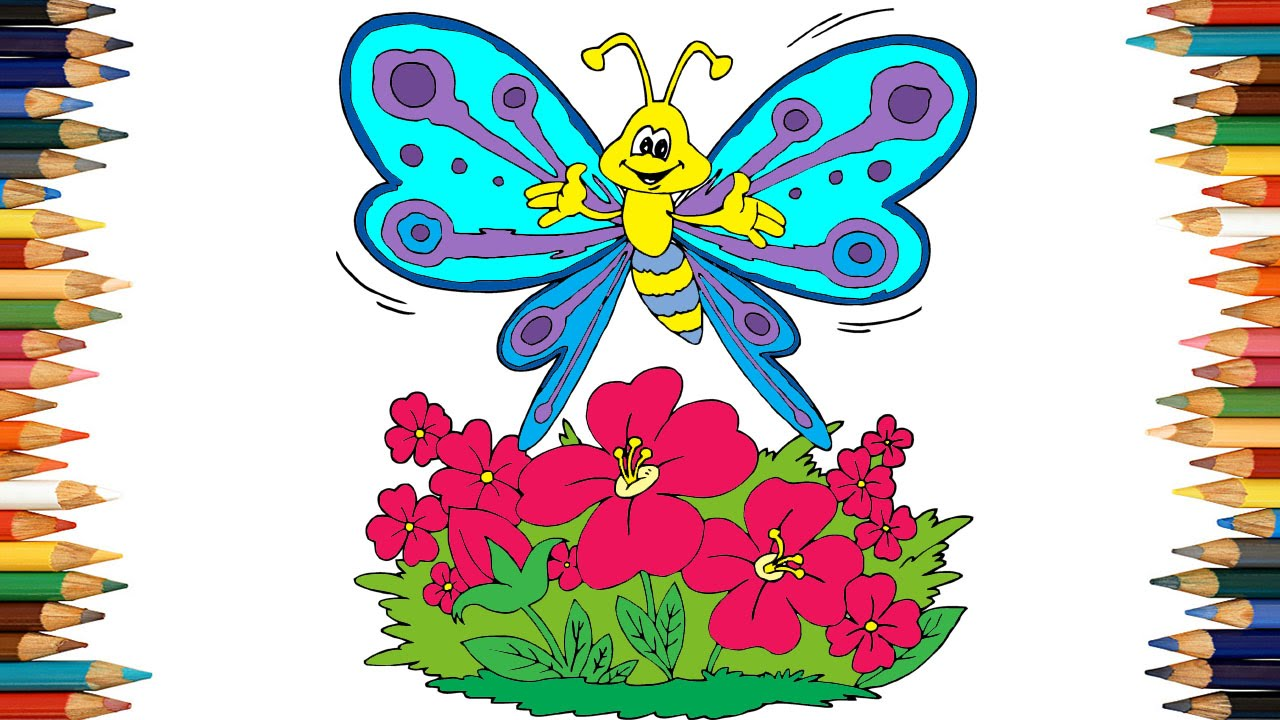 butterfly coloring pages for kids butterfly coloring book