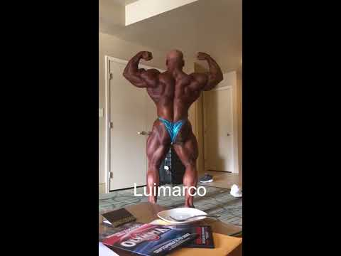 Big Ramy Posing Before Mr Olympia 2017