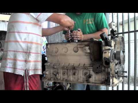 Rebuilding Cummins Marine 6b 6bt 6bta diesel for fishing boat in Costa Rica