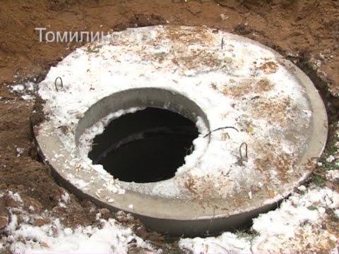 Обустроены шесть из двадцати четырех колодцев ливневой канализации в Томилино