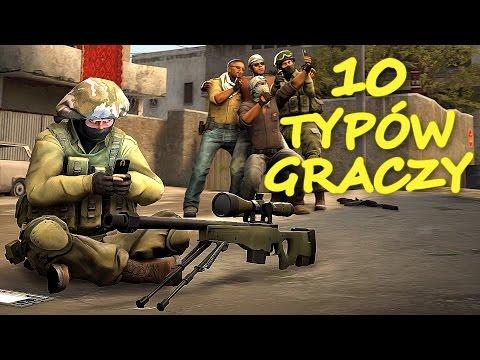 10 TYPÓW GRACZY CS:GO | Mervo