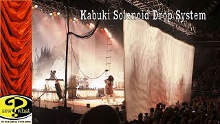Solenoid Kabuki Drop for Concert Stage - Why We Love Kabuki Systems