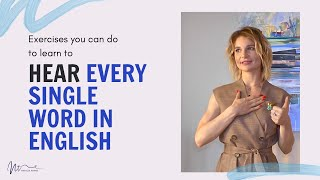 Baixar Exercises you can do to learn to hear every single word in English