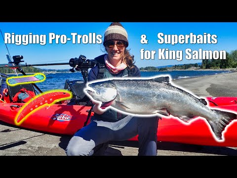 Kayak Pro-troll and Superbaits for Columbia River Fall Kings