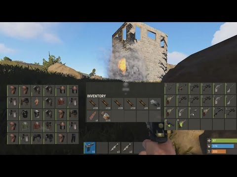 HOW!!! HOW HE GET SO MUCH STUFF!!! #Rust F4 S1