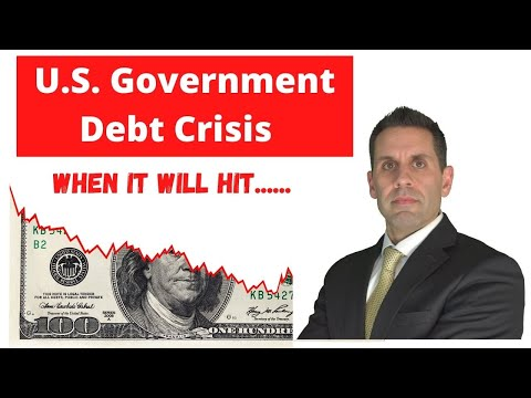 The U.S. Government Debt Crisis Is Almost Here
