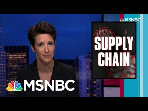 National COVID Response Useless For Coordinating Medical Supplies | Rachel Maddow | MSNBC