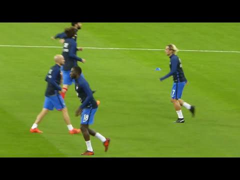 Antoine Griezmann ● Kylian Mbappé ● Alexandre Lacazette ● France vs Biélorussie 2017