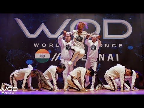 ZO NATION | World Of Dance Chennai 2018 | Raw Footage