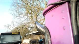 the big purple one 12v cummins 6bt land rover 90 cold start after a month