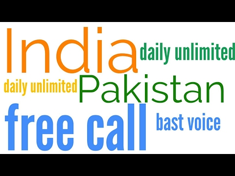 free call pakistan from internet to mobile India Nepal