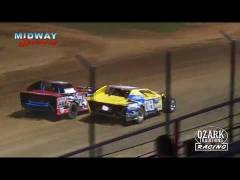 LEBANON MIDWAY SPEEDWAY - MIDWEST MODS - HEAT - 8-3-18