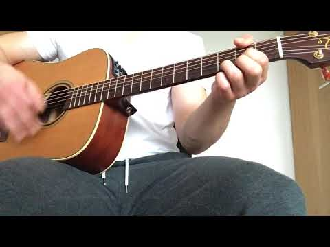 She Moves In Her Own Way by The Kooks Guitar Cover