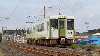 青い森鉄道 キハ100系3228D「快速しもきた」 向山~下田 2019年10月14日