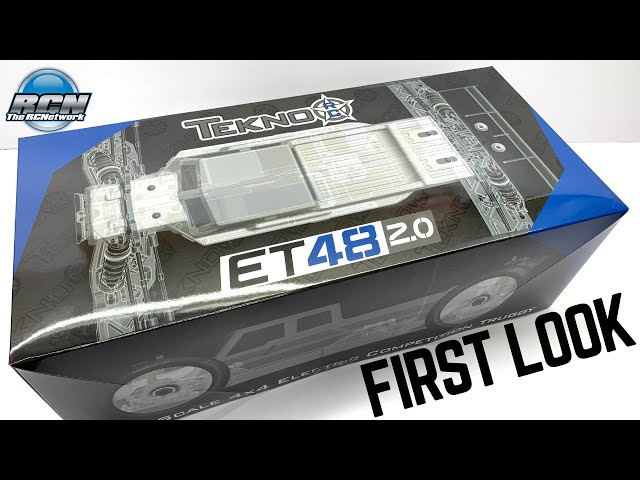 NEW!! Tekno ET48 2.0✌️ FIRST LOOK!  It's 1/8th Electric Truggy Time