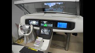 パナソニックは3月28日、横浜市にある子会社オートモーティブ&インダストリアルシステムズ社の施設で自動運転に関する技術セミナーを開催し、自動運転向けのコックピットを報道陣に公開した。