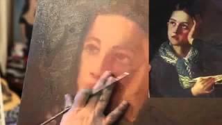 И Сахаров, ПОЛНЫЙ УРОК ,Секреты написания портрета .
