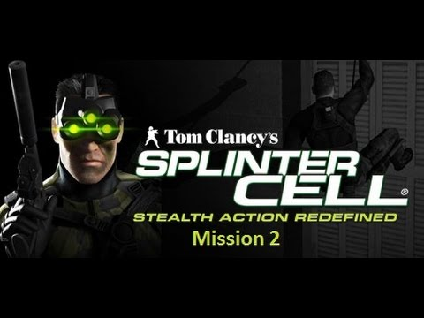 Splinter Cell Stealth Walkthrough - Mission 2 - Defense Ministry