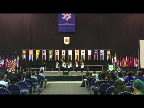 Hofstra University Dance Team                                      New Student Celebration 2017