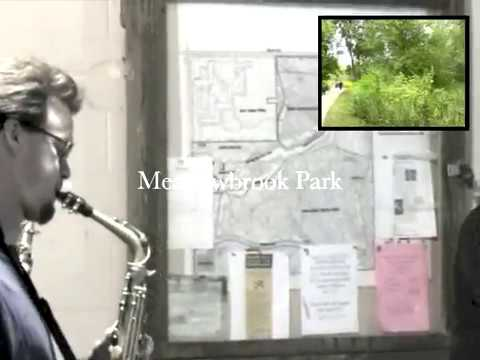Meadowbrook Park Jazz Walk. Urbana, Illinois