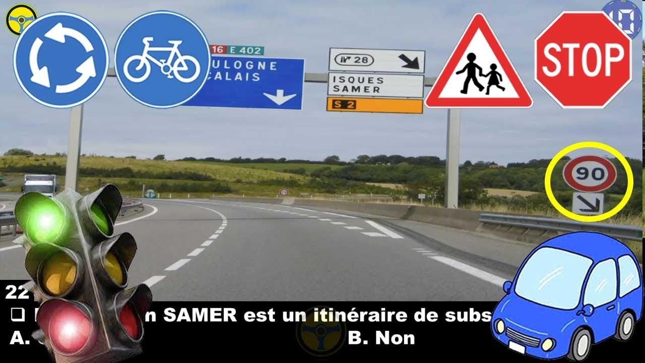Download nouveau code de la route 😘 permis de conduire France 😍 2021 | Série #6 code route