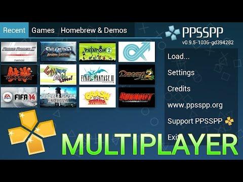 (Como Jogar Multiplayer No PPSSPP) Funciona No Gold E No Normal