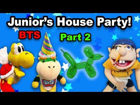 SML BTS: Bowser Junior's CRAZY House Party! pt. 2 |