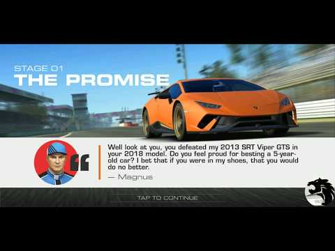 Real Racing 3 The Perfect Storm Stage 1/6 Goal 3/3 (0/28: PR 64.3)