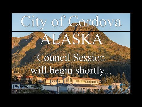 City of Cordova Council Session October 18, 2017