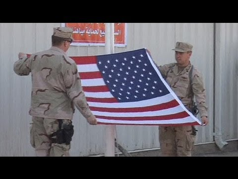 As Iraq war ends, Obama welcomes troops home