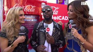 Wyclef Jean Red Carpet Interview - AMAs 2014