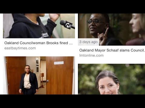 Oakland Mayor Libby Schaaf And Councilmember Desley Brooks Must Do Lunch