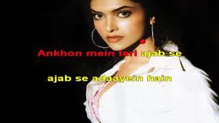 Ankhon Mein Tere Om Shanthi Om 2007 Hindi Karaoke from Hyderabad Karaoke Club