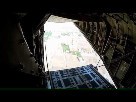 Første Airdrop I Afghanistan