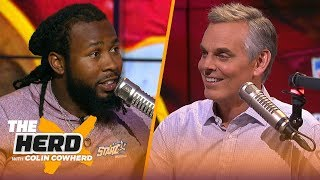 Download Josh Norman talks Aaron Rodgers' greatness, Dwayne Haskins & running with the bulls | NFL | THE HERD Mp3 and Videos