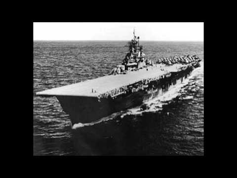 October 10, 1944 Leyte Operation: USS Bunker Hill strikes on Formosa and Okinawa