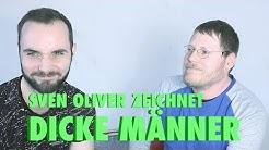 Queer Art: Dicke Männer von Sven Oliver