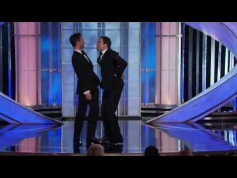 Thumbnail: Jimmy Fallon and Adam Levine funny moments - Golden Globes 2012 HQ