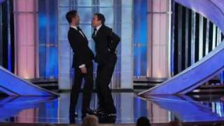 Jimmy Fallon and Adam Levine funny moments - Golden Globes 2012 HQ